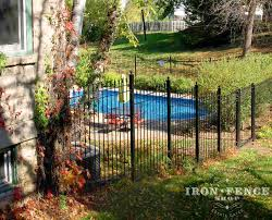 How To Diy Install Iron Fence Or Aluminum Fence On A Hill Slope Or Grade Iron Fence Shop Blog