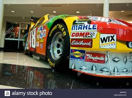 Kyle Busch S Number 18 Toyota Camry Nascar Race Car With Sponsor Stock Photo Alamy
