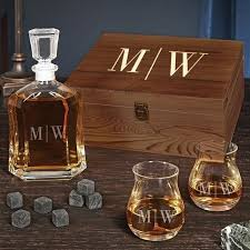 quinton personalized whisky decanter