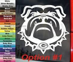 Bulldog Choice Georgia Bulldogs Uga Sec Football 5 5 Diecut Decal Vinyl Sticker Ebay