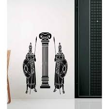 Shop Ancient Rome Guard Security Sword And Shield Wall Art Sticker Decal Overstock 11802063