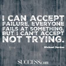 quotes about failing fearlessly success