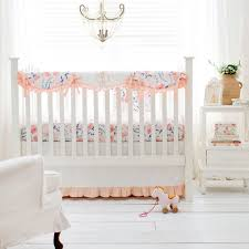 peach crib bedding peach baby bedding