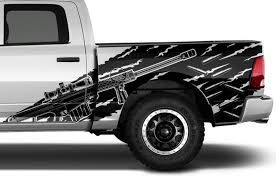 Dodge Ram 1500 2500 3500 2009 2018 5 7 Bed Vinyl Decal Kit Hemi Factory Crafts