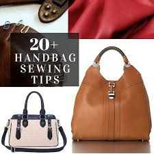 20 tips for sewing handbags the