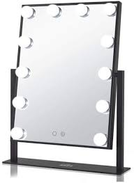 lighted makeup vanity mirror hollywood