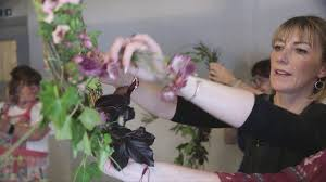 Spring Wreath Workshops with Myrtle Fox And Maude - Stafford - YouTube