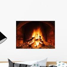 Fireplace Wall Decal Wallmonkeys Com
