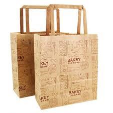 food grade kraft paper bag for bread