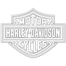 Amazon Com Harley Davidson Logo Cutz Rear Window Decal Harley Davidson Automotive