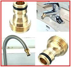 home depot faucet garden hose adapter