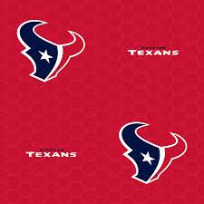 houston texans logo pattern red