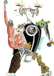 Moira Xxiv Chrysler Hammurabi Geisha Collage By Thomas Nagel Saatchi Art