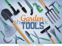 Garden Farm Tools Agriculture Horticulture Vector Stock Vector Royalty Free 1545140240