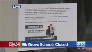 Elk Grove Schools Closed - YouTube