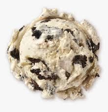 brand cookies n cream ice cream scoop