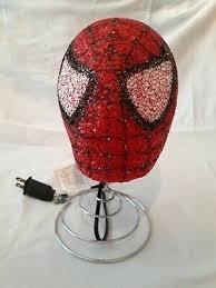 Marvel Spiderman Kids Bedroom Table Popcorn Lamp Night Light Spider Man Head 8718696160398 Ebay