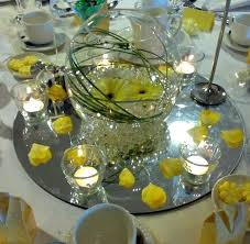 glass bowl table decorations fish bowls