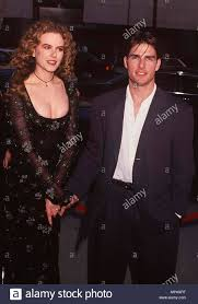 Tom Cruise And His Girlfriend High Resolution Stock Photography ...