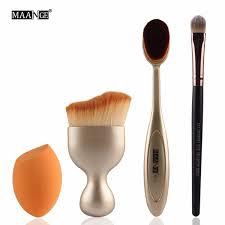 makeup brush set toothbrush type