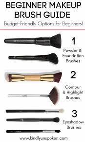 beginner makeup brush guide the