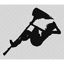 Amazon Com Rwby Anime 5 5 Nora Valkyrie Silhouette Decorative Die Cut Vinyl Decal For Cars Laptops Tablets Skateboards Black Color Computers Accessories