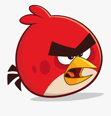 Angry Birds Red Png - Angry Birds Friends Red , Transparent ...