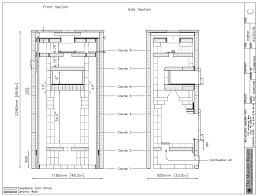 chimney construction plans home plans