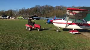 lawn tractor aircraft tug you