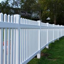 Pvc Permanent Picket Fencing Watt Plastics