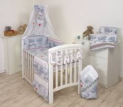 baby cot bed set fit cot 120x60cm or