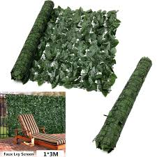 Fake Ivy Hedge Roll 3m X 1m
