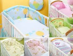 piece pc pcs baby bedding set cot