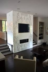 granite marble fireplace design with
