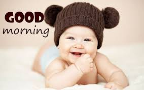 cute baby good morning e pictures