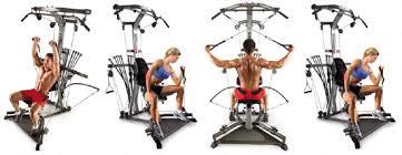 bowflex exercise equipment