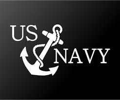 Us Navy Vinyl Decal Car Truck Window Laptop Sticker Kandy Vinyl Shop