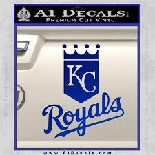 Kc Royals Decal Sticker Stacked A1 Decals