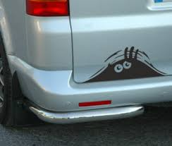 China Peeking Monster For Cars Walls Vw T4 T5 Funny Sticker Graphic Vinyl Car Decal U008 China Car Sticker Sticker