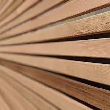 Cedar Slatted Fence Panels Slatted Screen Fencing