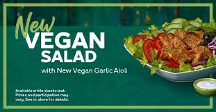 subway a new vegan sub has also been
