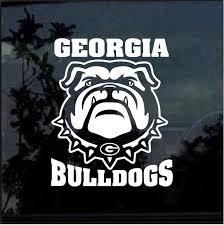 Uga Georgia Bulldogs Window Decal Sticker Custom Sticker Shop