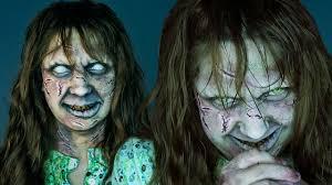 regan the exorcist makeup maquillaje