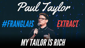 FRENCH PEOPLE SUCK AT ENGLISH - #FRANGLAIS - PAUL TAYLOR - YouTube