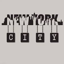 New York City Skyline Wall Quote Vinyl Decal Wall Art Vinyl Sticker Decals Mural New York Silhouette Wall Mural Removable C03 Wall Stickers Aliexpress