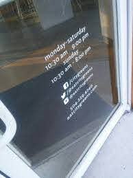 Window Decal Social Media Store Front Windows Window Decals Window Stickers