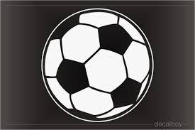 Soccer Ball Decals Stickers Decalboy