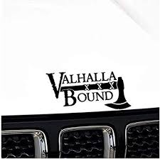Ojyfa 16 6 X 8 2cm Oem Valhalla Bound Viking Decal Soldier Car Sticker Black Covering The Body Vinyl 3 Pcs Buy Online At Best Price In Uae Amazon Ae