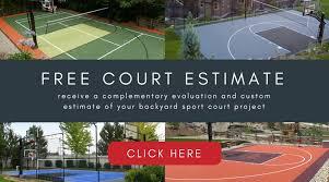 Understanding The Cost Of A Backyard Sport Court Sportprosusa