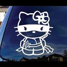 Hello Kitty Ninja Window Decal Sticker Custom Sticker Shop